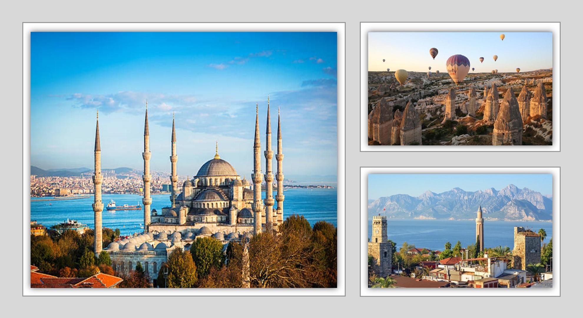 Turkey Tour 7N / 8D