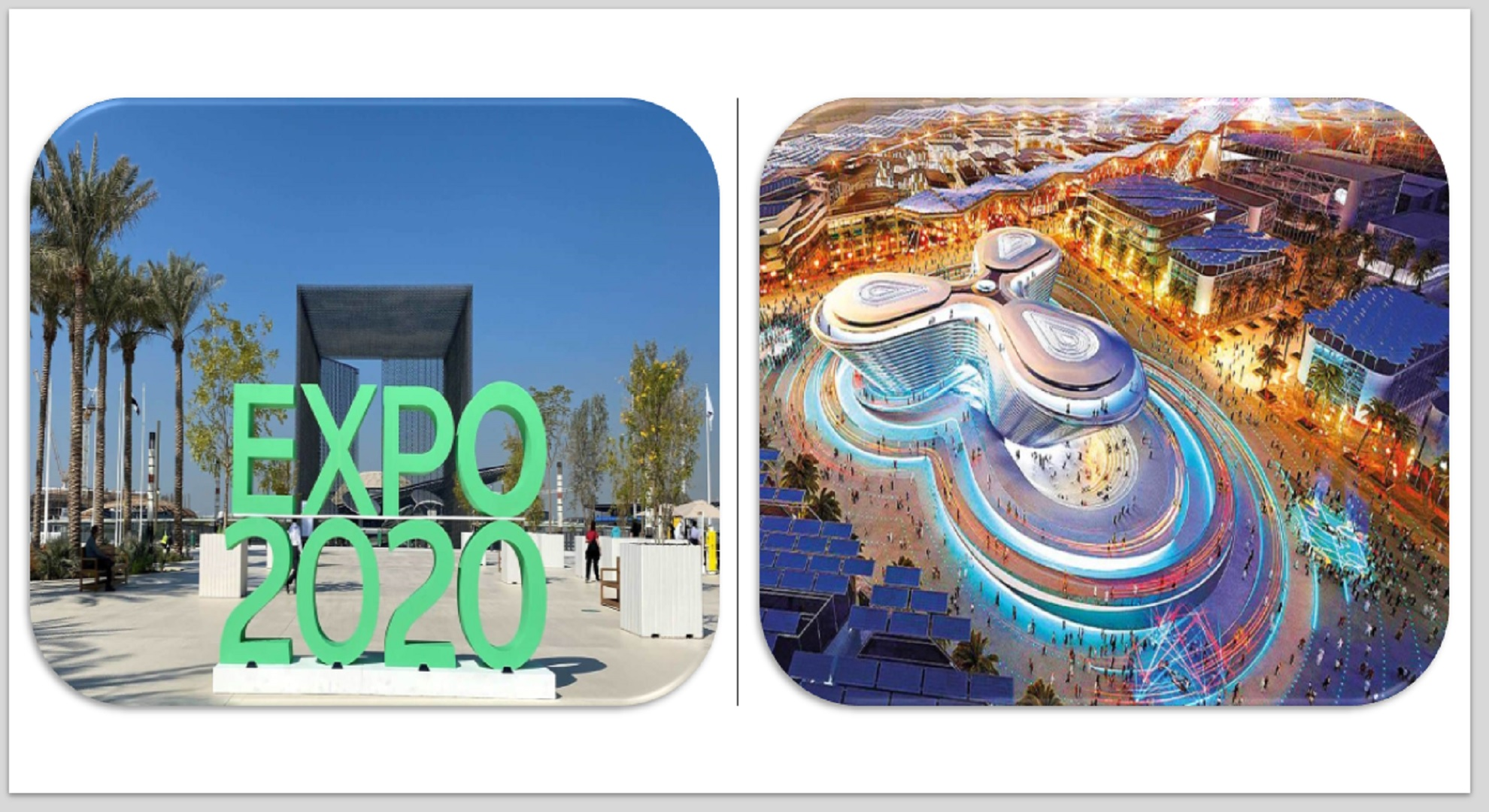 Tour Of Expo 2020 Dubai 5N / 6D
